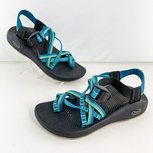 Chaco ZX2 Vibram Yampa River Hiking Blue Sandals